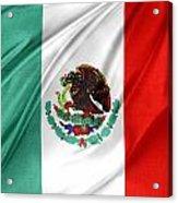 Mexican Flag Acrylic Print