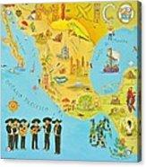 Mexico Acrylic Print