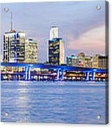 Miami 2004 Acrylic Print by Patrick M Lynch