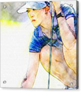 Michelle Wie - Third Round Of The Lpga Lotte Championship Acrylic Print