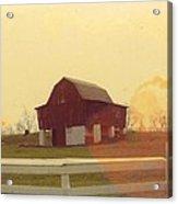 Michigan Barn Acrylic Print