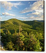 Middle Sugarloaf Mountain - Bethlehem Nh Usa Acrylic Print