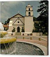 Mission San Buenaventura Acrylic Print