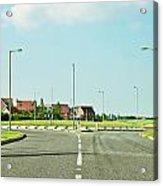 Modern Road Acrylic Print