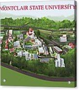 Montclair State University Acrylic Print by Rhett and Sherry  Erb