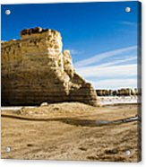 Monument Rocks Of Kansas Acrylic Print