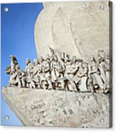 Monument To The Discoveries In Lisbon Acrylic Print