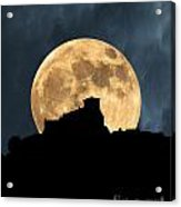 Moonstruck Over Tuscany Acrylic Print