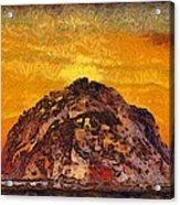 Morro Rock 3007 Acrylic Print
