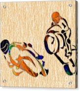 Motorcycle Racing Acrylic Print