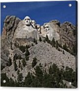 Mount Rushmore Acrylic Print by Frank Romeo