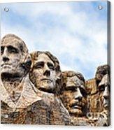 Mount Rushmore Monument Acrylic Print