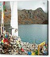 Mountain Lake Gosaikunda Nepal Acrylic Print