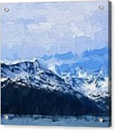 Mountains Acrylic Print