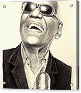 Mr. Ray Charles Acrylic Print