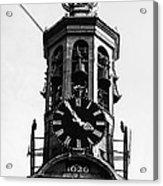 Munttoren Clock Tower Acrylic Print