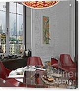 My Art In The Interior Decoration - Elena Yakubovich Acrylic Print