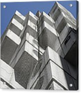 Nakagin Capsule Tower Acrylic Print
