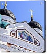 Nevsky Cathedral - Tallin Estonia Acrylic Print