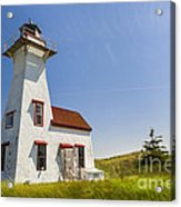 New London Range Rear Lighthouse Acrylic Print