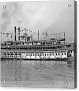 New Orleans Steamboat Acrylic Print