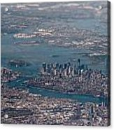 New York City Aerial Acrylic Print