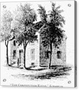 New York Senate, 1777 Acrylic Print