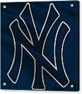 New York Yankees Uniform Acrylic Print