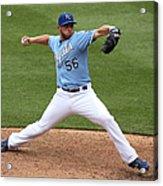 New York Yankees V Kansas City Royals 2 Acrylic Print