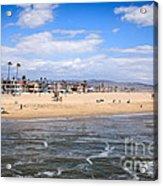 Newport Beach In Orange County California Acrylic Print