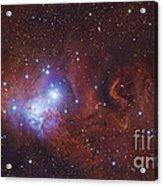 Ngc 2264, The Cone Nebula Region Acrylic Print