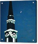 Night Church Acrylic Print