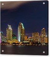 Cityscape San Diego Bay Acrylic Print