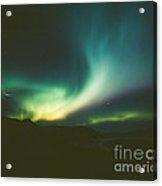 Northern Lights Over Bove Island Acrylic Print