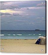 Ocean View 1 - Miami Beach - Florida Acrylic Print