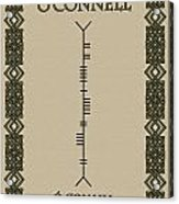 O'connell Written In Ogham Acrylic Print