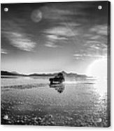 Off Road Uyuni Salt Flat Tour Select Focus Acrylic Print