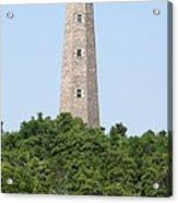 Old Cape Henry Lighthouse Acrylic Print