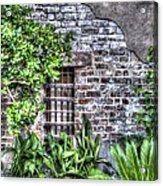 Old City Jail Window Acrylic Print