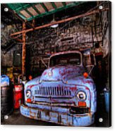 Old Pickup Truck Hdr Acrylic Print