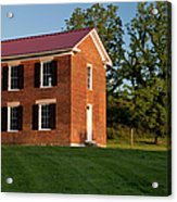 Old Schoolhouse Acrylic Print by Brian Jannsen