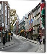 Old Town Quebec - Canada Acrylic Print