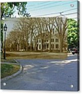 Oliver C. Brownell House On The Commons In Little Compton Rhode Island Acrylic Print