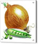 Onion And Peas Acrylic Print