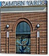 Oriole Park At Camden Yards Acrylic Print