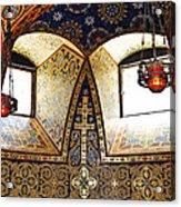 Orthodox Church Interior Acrylic Print