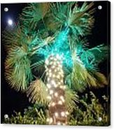 Outdoor Christmas Decorations Acrylic Print