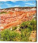 Painted Desert National Park Panorama Acrylic Print