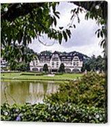 Palacio Quitandinha - Petropolis Brazil Acrylic Print