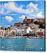 Panorama Of Ibiza Spain Acrylic Print